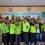 foto/ket: urutan ke 4 dari kanan ke kiri pakai kacamata Darmawan Yusuf ketua Bidang DPP SBSI 92 Pusat