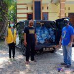 Ket;Foto// Dokumentasi Paket Sembako dan Masker sebelum dibagikan kewarga yang tidak mampu
