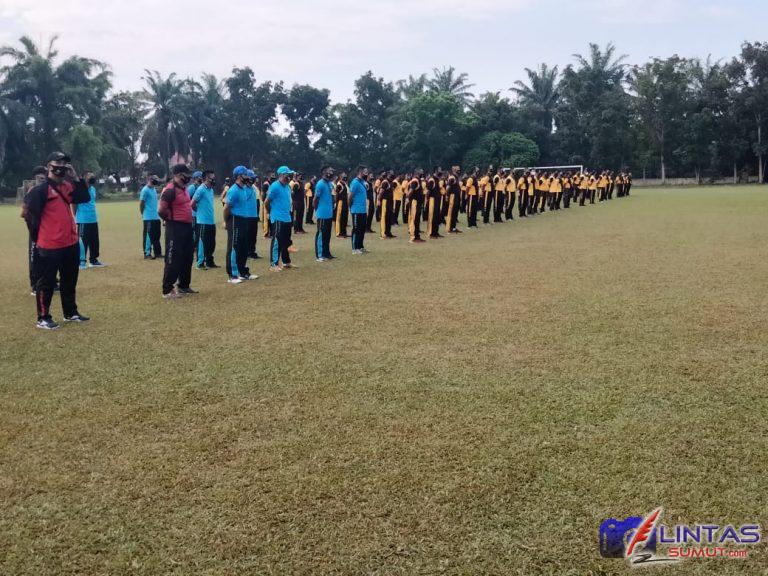 Lapangan Bola Bhyangkara Polres Binjai