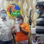 Foto : Seorang Ibu Rumah Tangga (IRT) berinisial RS (29) diamankan Sat Reskrim Narkoba Polrestabes Medan.